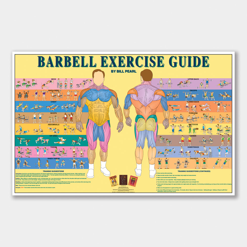 Barbell Exercise Guide Bill Pearl