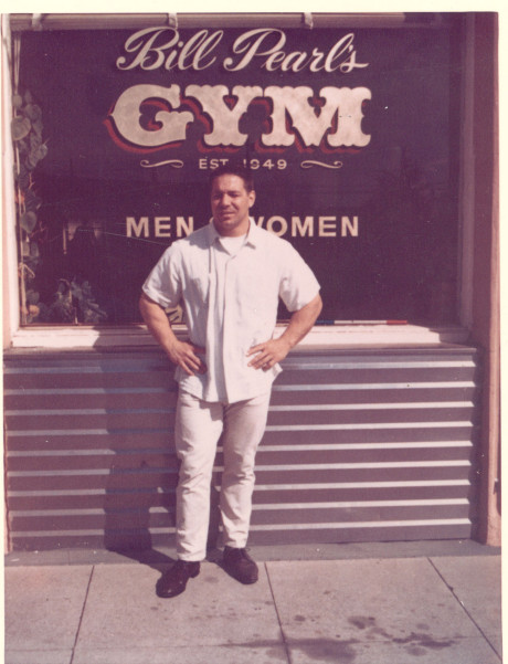 Bill-front-of-gym,-est.1949