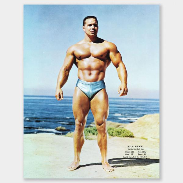 Bill Pearl - LaJolla, CA 1967 - Color