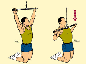 Wide Grip Front Lat Pull-Down