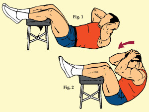 Heel High Sit-Up